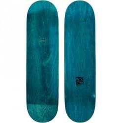 """Planche de skate vierge TEAM NUDE  8,25"""" bleue"""
