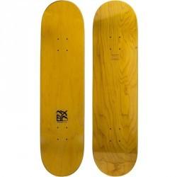 "Planche de skate vierge TEAM NUDE  8"" jaune"