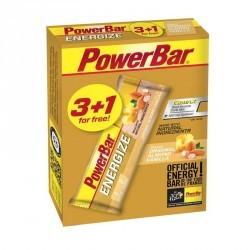 Barre énergétique ENERGIZE vanille amande 3x55g +1 Gratuit