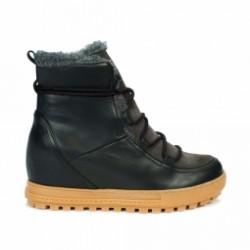 Boots Après-ski Aigle Laponwarm Black