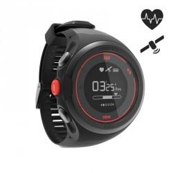 Montre cardio poignet GPS ONMOVE 500 connectée noire