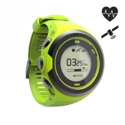 Montre cardio poignet GPS ONMOVE 500 connectée VERT
