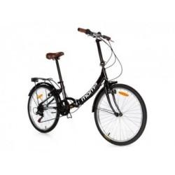Vélo Pliant Moma Bikes TOP CLASS Panaché 6V Noir