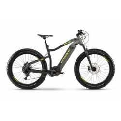 VTT Fat Bike Semi Rigide 2019 Haibike XDURO FatSix 9.0 Sram NX 11v Gris