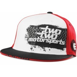 ETNIES FINISHED 210 FIT HAT WHITE RED