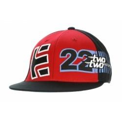 ETNIES TABLE TOP 210 FIT HAT BLACK/RED
