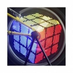 Eclairage pour roue de vélo 96 LED - 220 Lumens