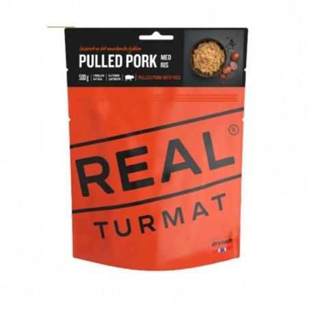Porc effiloché et Riz - REAL Turmat