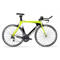 Vélo de Triathlon Cervelo P3 Shimano Ultegra Di2 11V 2019 Jaune / Fluo / Noir