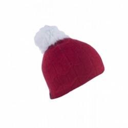 Bonnet Spyder Knit Wit Hat Red