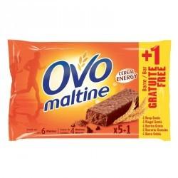 Promo Barre énergétique OVOMALTINE 6x20g dont 1 offerte