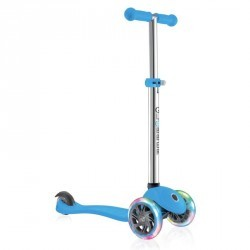 TROTTINETTE ENFANT GLOBBER PRIMO LIGHTS BLUE