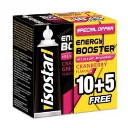 GELS ENERGETIQUES BOOSTER CRANBERRIES 15X20 DONT 5 GRATUITS