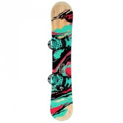 Pack snowboard all mountain femme Gala turquoise et rouge