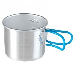 Quart camp du randonneur aluminium 0,3 litre