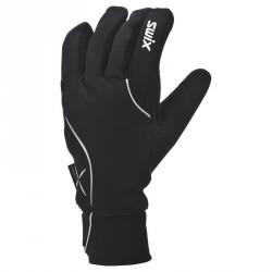 Gant de ski fond loisir chaud noir