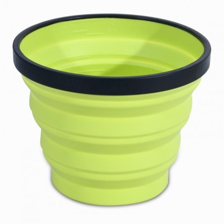 """Verre camp du randonneur compactable """"X-CUP"""" 0,25 litre"""