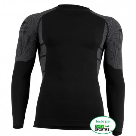 Tee-shirt technique et respirant manches longues performance homme ou femme warm - Jubory