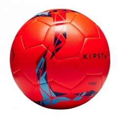 Ballon de football F500 Hybride taille 5 rouge /bleu