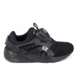 Basket mode, SneakerBasket mode - Sneakers PUMA Trinomic Disc Noir