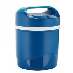 Boîte alimentaire isotherme randonnée plastique (avec 2 boîtes alim.) 1,6 litre