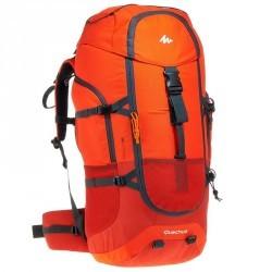 Sac à dos Trekking forclaz 60 litres rouge