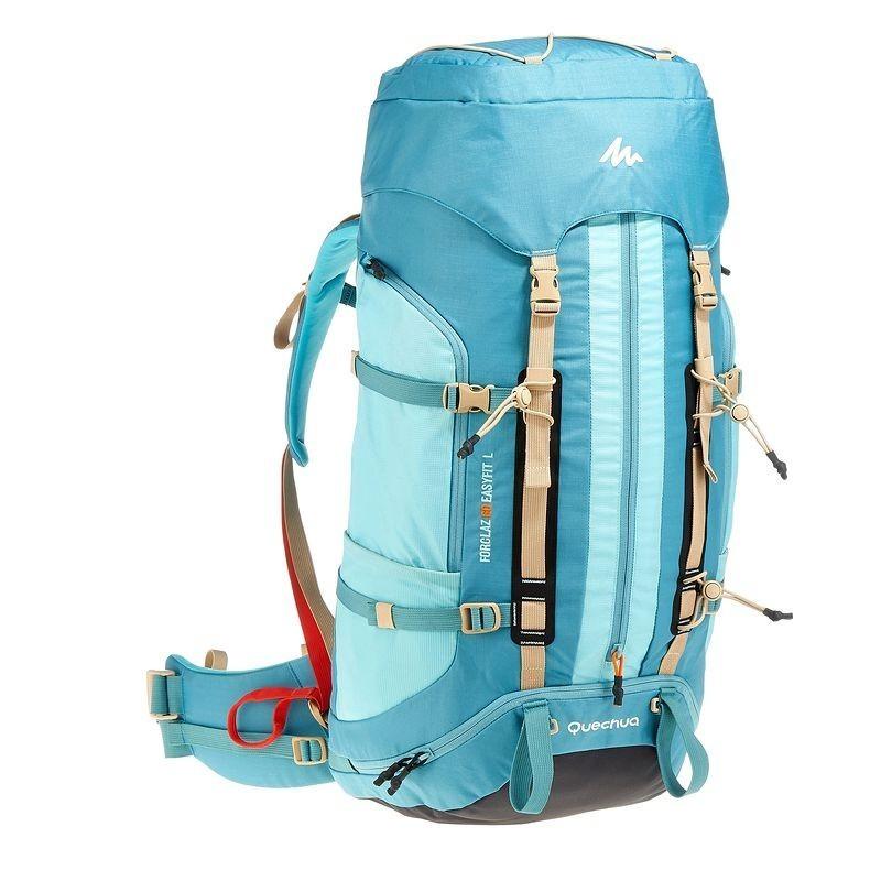 Sac à dos Trekking easyfit femme 60 litres bleu - avis / test