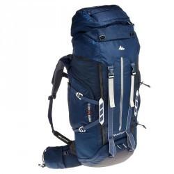 Sac à dos Trekking symbium homme 70+10 litres bleu foncé