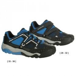 Chaussures de randonnée enfant Crossrock bleu/rose
