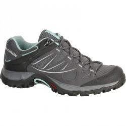 Chaussures de randonnée femme Salomon Ellipse Aero gris/bleu