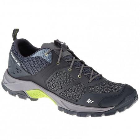 Chaussure de randonnée nature homme Forclaz 500 Fresh noir