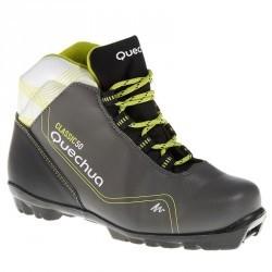 Chaussure de ski de fond classique 50 NNN junior noire