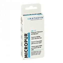 Comprimés conservateurs MICROPUR CLASSIC 50 comprimés secours
