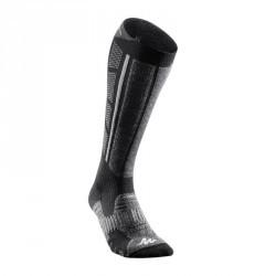 2 paires de chaussettes chaudes Forclaz 900 warm noir