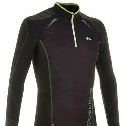 tee shirt ski de fond 900 homme noir