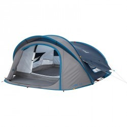 Tente de camping 2 SECONDS XL 3 AIR | 3 personnes bleu