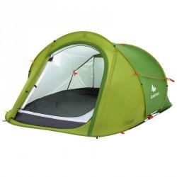 Tente de camping 2 SECONDS | 2 personnes vert