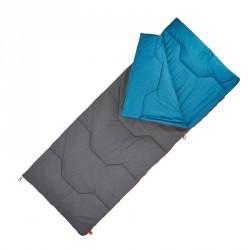 Sac de couchage de camping  / CAMP du RANDONNEUR ARPENAZ 10° COTON bleu