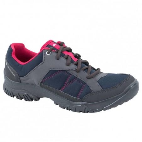 Chaussures de randonnée Nature femme Arpenaz 50 bleu rose