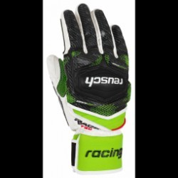 Gants De Ski Racing Reusch Race Tec 17 Sc White/neon Green