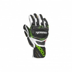 Gants De Ski Racing Reusch Race Tec 18 Gs Bk / Wh / Green
