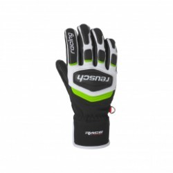 Gants De Ski Racing Reusch Race Team 18 Black/white/green