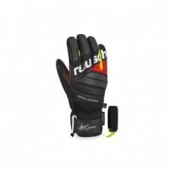 Gants De Ski Racing Reusch Marcel Hirscher Black / Fire Red