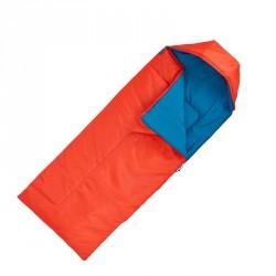 Sac de couchage de bivouac / randonnée / trek enfant FORCLAZ 10° rouge