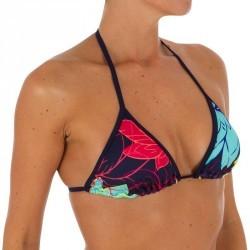 Haut de maillot de bain femme triangle coulissant avec coques MAE LOTUS