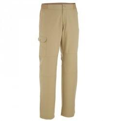 Pantalon randonnée plaine  Arpenaz 50 homme beige