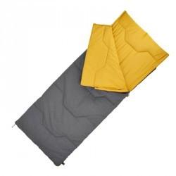 Sac de couchage de camping  / camp du randonneur ARPENAZ 10° coton jaune