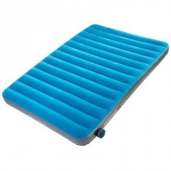 Matelas gonflable CAMPING / CAMP DU RANDONNEUR AIR SECONDS 140 | 2 pers. bleu