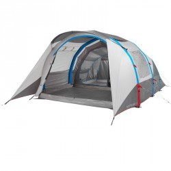Tente de camping familiale air seconds 5.2 xl | 5 personnes grise