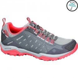 Chaussures de randonnée femme Columbia Conspiracy Razor imperméable rose